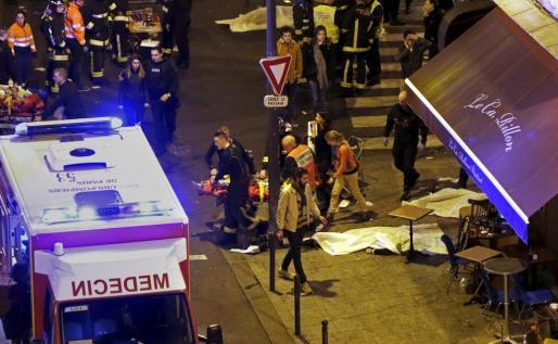 Imagen de algunas de las víctimas de los atentados.
