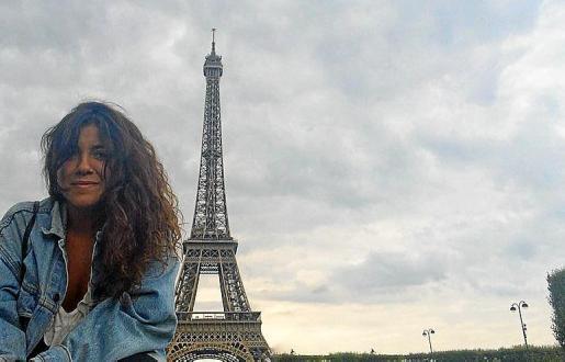 Aloma Garcia, en París