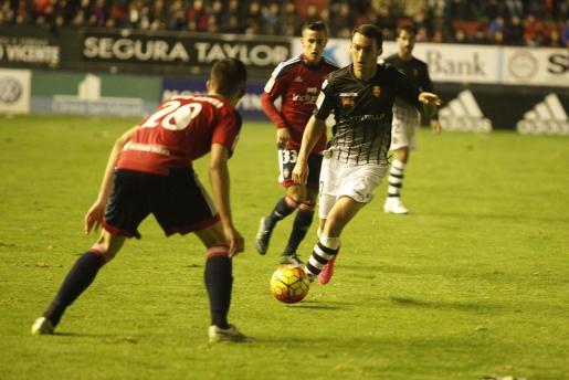 Pese a su buen juego, el Mallorca no ha podido sacar ningún punto de su visita a El Sadar.