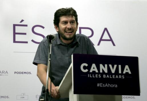 Alberto Jarabo, portavoz de Podemos.
