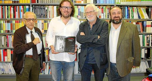 Guillem Rosselló Bordoy, Tomàs Vivot, Josep Ferragut y Gracíà Sánchez.