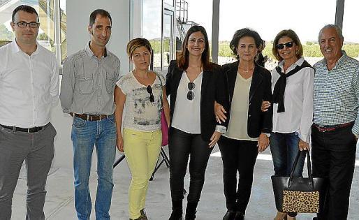 Joan Cladera, Llorenç Vanrell, Xisca Quetglas, Malen Rosselló, Apol·lònia Castell, Maria Puigserver y Joan Torrens.