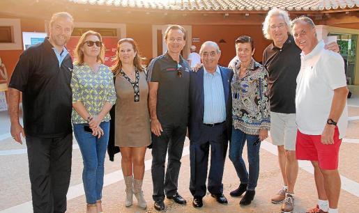 Daniel Vulic, María José Hidalgo, Margarita San José, Hans Müller, Juan José Hidalgo, Carmen Serra, Bernd Jogalla y Onni Nordström.