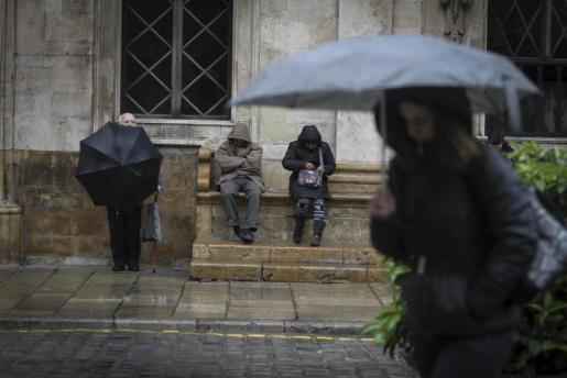 Imagen del pasado invierno en Palma.