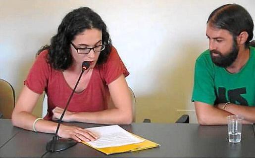 Marina Llobera y Pere Josep Coll, de Alternativa per Pollença.
