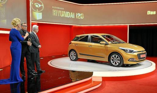 Peter Schreyer, presidente y jefe de Diseño de Hyundai, recibió el premio durante la ceremonia.