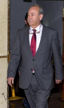 El juez José Castro a su llegada a los Juzgados de instrucción de Palma.