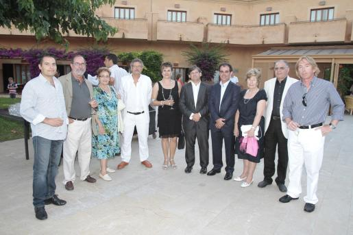 Andreu Vidal, Juli Fuster, Maria Cardell, Joan Janer, Mercedes Alvarado, Vicens Thomas, Joan Janer, Antonia Mulet, Joan Jaume y Bernardino Jaume.
