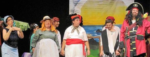 En la obra participan más de una decena de actores con algún tipo de discapacidad.