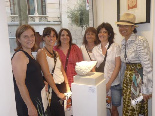 María Planas, Laia Pubill, Teresa Marqués, Catalina Plantalamor, Blanca Escuin y María Ramos.