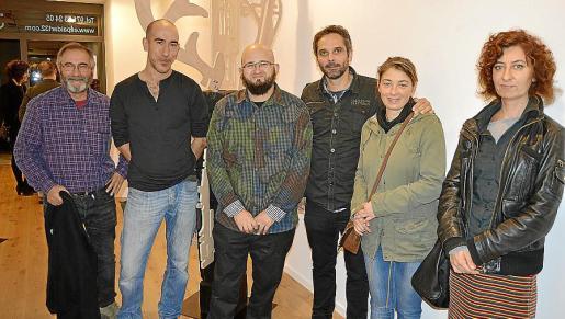 Antoni Jesús Ballester, Antoni Morro, Joan Oliver, Felip Caldés, Maria del Mar Torrens y Maria Huerga.