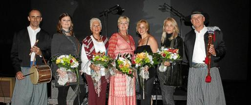 Xisco Amengual, Lara Estarás, Marita Halse, Genia Tobin, Luzandra Blanco, Núria Hosta y John Lambourne.