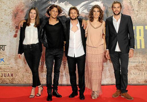 Joana Rupert, Max Olivier, Bruno Jubin, Helena de Miguel y Joel Montagud.