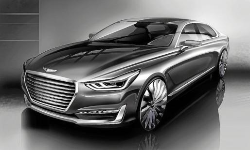 La marca coreana tiene previsto lanzar seis nuevos modelos Génesis hasta el año 2020.