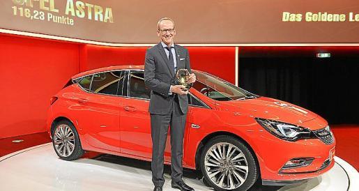 El Astra gana el décimosexto 'Volante de Oro' para Opel desde 1976.