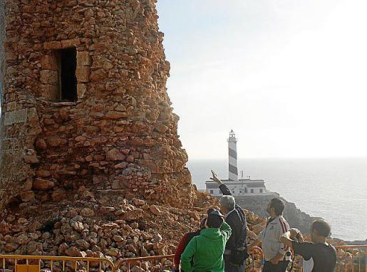 La torre de Cala Figuera, en una visita reciente.