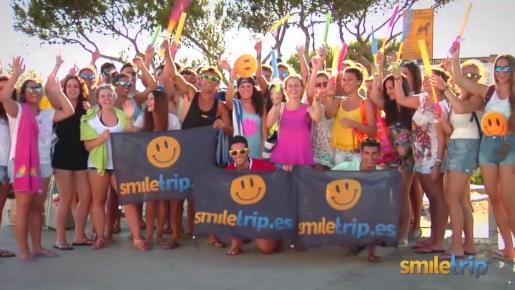 SmileTrip es una empresa que organiza viajes de fin de curso para alumnos procedentes de toda España, pero también de toda Europa.