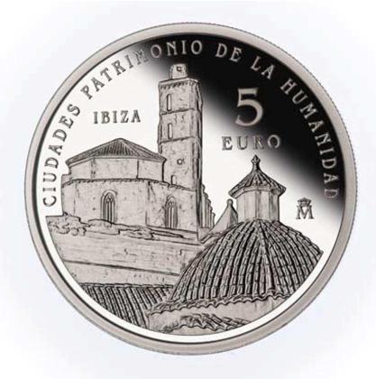 Moneda de 5 euros.