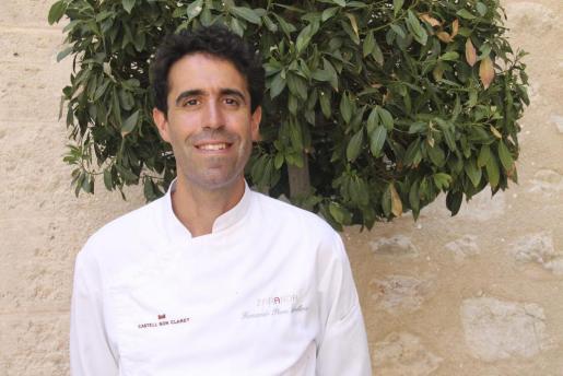 El cocinero Fernando Arellano.