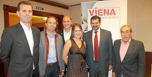 Paul Verhagen, Eduardo Riera, Florian Wiessinger, Olga Giorgeva, Carlos Anglada y Pedro Iriondo.