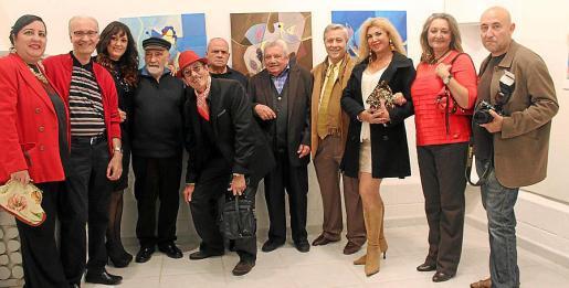 Soledad Hidalgo, Tomeu Vives, Nati Expósito, Cándido Ballester, Jandro, Joan Mut, Ángel Baldovino, Basilio Escudero, Sedi Behvarrad, Magdalena Grua y José Montañez.