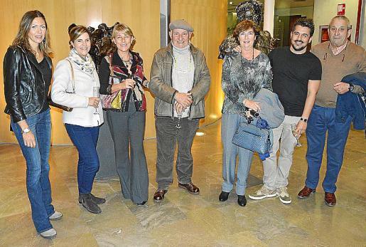 Estefanía Pomar, Catalina Darder, Paula Téllez, Joan Riera Ferrari, Maria Magalena Marimón, Ernesto Rodríguez y Biel Perelló.