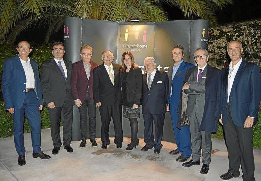 Ernesto Serrano, Jesús Mullor, Jaime García-Ruiz, Tomeu Català, Maria Luisa Manjón, Miquel Llabrés, Vicente Reolid, Luis García-Ruiz y Florencio Reolid.