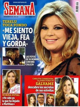 Portada de la revista Semana con la entrevista de Norma Duval.
