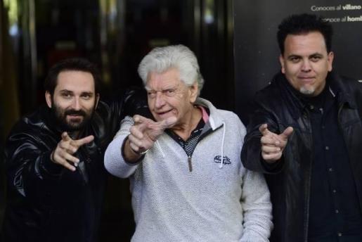 Marcos Cabotà, David Prowse y Toni Bestard.