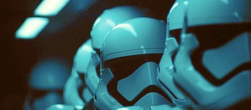 Fotograma de la película Star Wars.