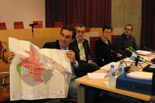 Josep Manchado, en su época en el Consell de Menorca.