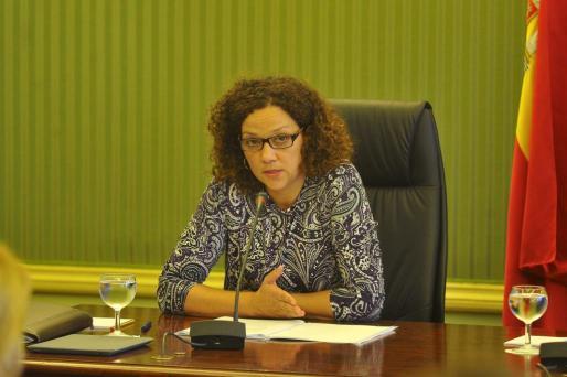 Catalina Cladera, consellera de Hisenda i Administracions Públiques.