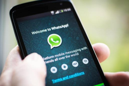 Un usuario en Whatsappa.