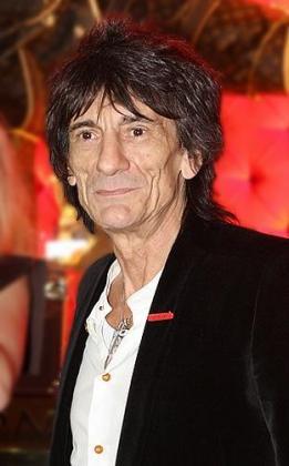 Fotografía de archivo de Ron Wood, guitarrista de los Rolling Stones.