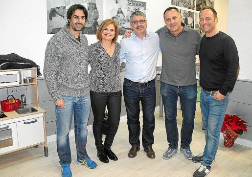 Igor Rodríguez, Joana Maria Buades, Kiko Franconetti, Kiko Homar y Ákel Berdez.