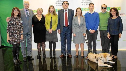 Ana Molina, Javier Aguado, Marga Cantallops, Patricia Sans, Josep Vilaseca, María del Carmen Soler y Jarold, Borja Rodríguez, Antonio Sorá y Alejandra Luque.