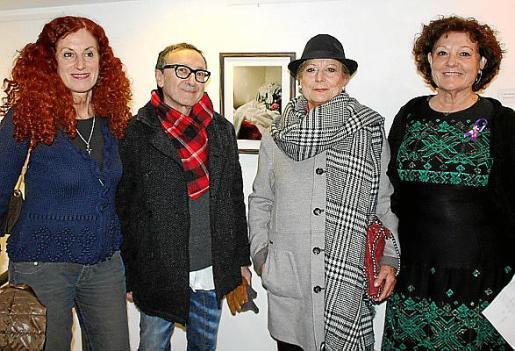 Catalina Sureda, Jaime Llabrés, Petry Rodas y Francisca Llabrés.