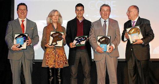 Andreu Riera, Catalina Rosselló, Mario Mola, Gori Bibiloni y Tomeu Catalá.
