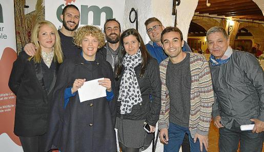 Pilar Ortiz, Cesar Español, Maria Lluc Lladó, Carlos Manfort, Solyma Veny, Ismael Sánchez, Enric Brunet y Rafael Puerta.