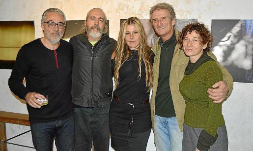 Jaume Prohens, Tomeu Vidal, Nadja Stoisser, Harmut Bostmann y Llúcia Mundet.