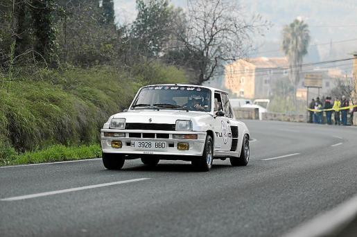 Imagen de la prueba realizada el pasado domingo durante casi todo el día y que obligó al cierre de la carretera del Puig Major.