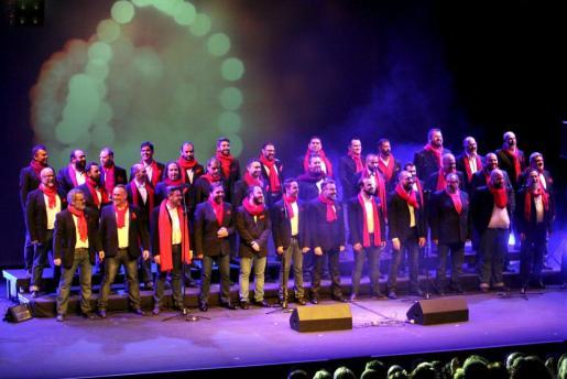 Mallorca Gay Men's Chorus durante una de sus actuaciones.
