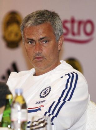 Imagen del técnico portugués José Mourinho, al principio de la presente temporada.