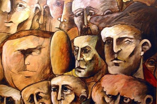 Una de las obras que ha sido expuestas en la galería.