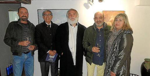 Miguel Ángel Guerreiro, Daniel Samaniego, José Roberto Salas, Alfons Moll y Cati Gelabert Niell.