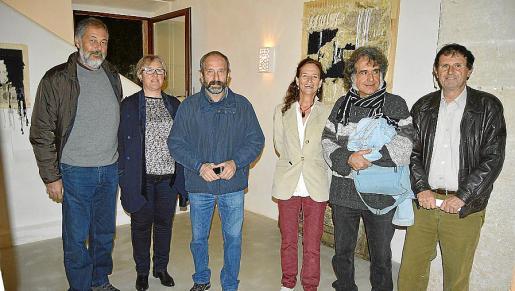 Toni Mestre, Maria Magdalena Amengual, Cosme Aguiló, Susan Gray, Ferran Aguiló y Guillem Suau.