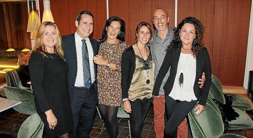 Blanca Serra, Alfredo Arias, Belén Bravo, Alicia Fernández, Jaume Prohens y Ana Perelló.
