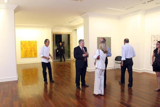 Imagen de una de las exposciones que ha albergado la galería.