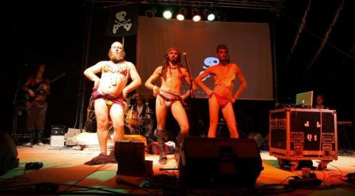 Pirates Pirats en uno de sus conciertos.
