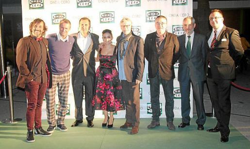 Ángel Rielo, Gica Craioveanu, Paco Muñoz, María Cortés, Jaime Ares, Javier Ruiz Taboada, Ramón Osorio y Juan Carlos Enrique.